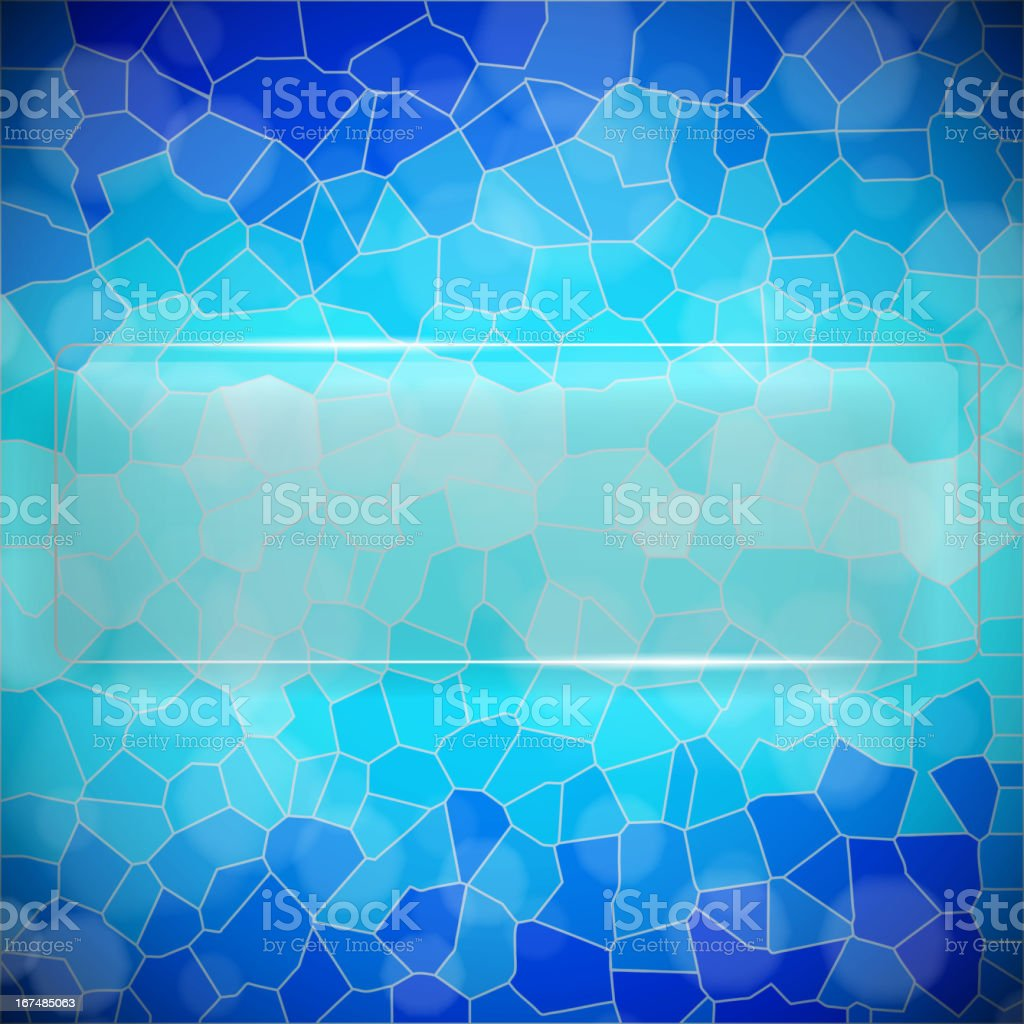Crystallize background royalty-free stock vector art