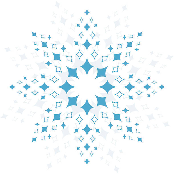 Crystals vector art illustration