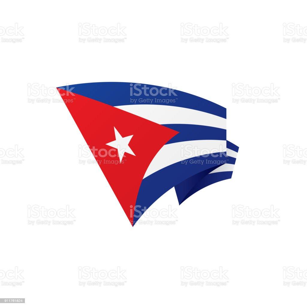 Attractive Cuba Flag, Vector Illustration Royalty Free Cuba Flag Vector Illustration  Stock Vector Art U0026amp