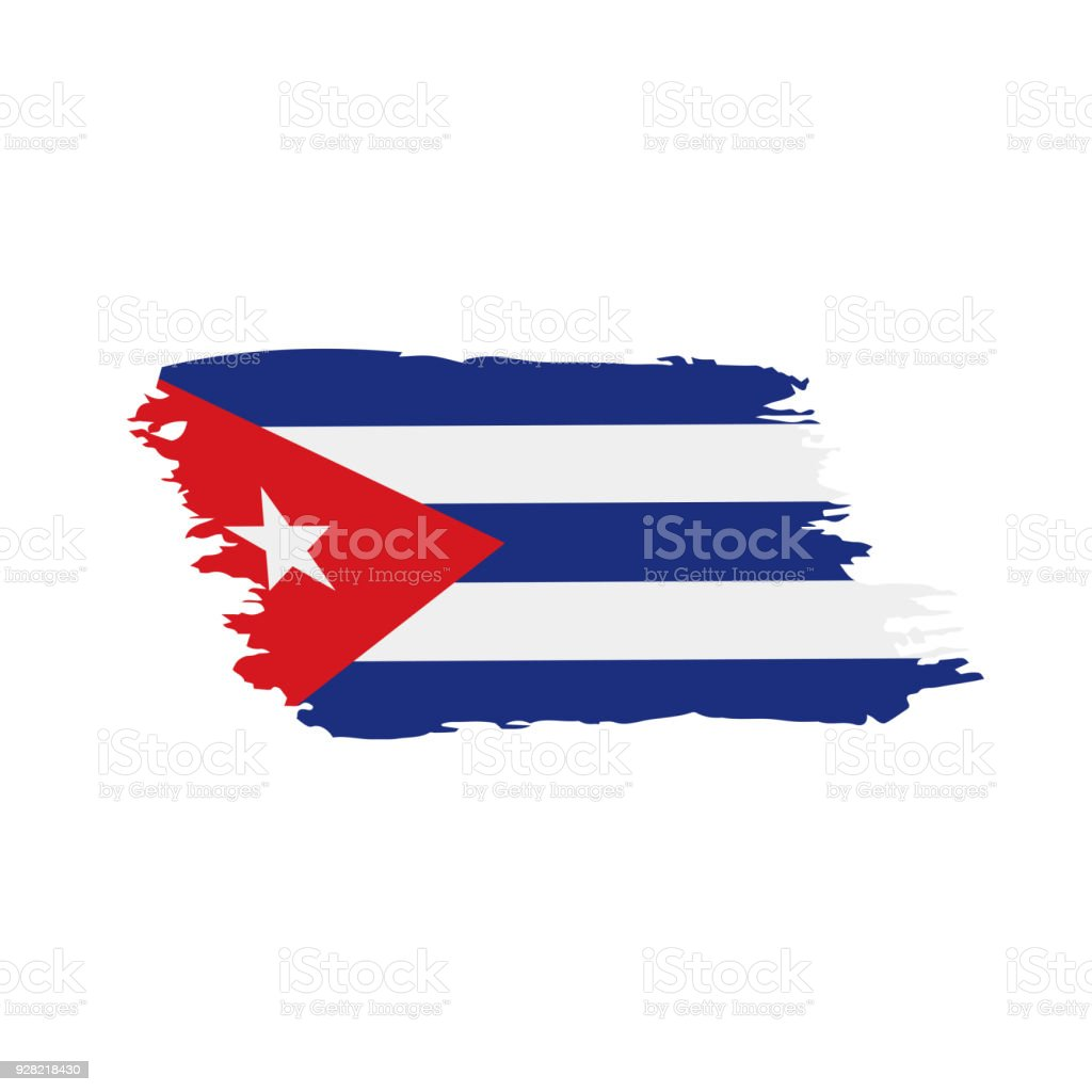 Cuba Flag, Vector Illustration Royalty Free Cuba Flag Vector Illustration  Stock Vector Art U0026amp