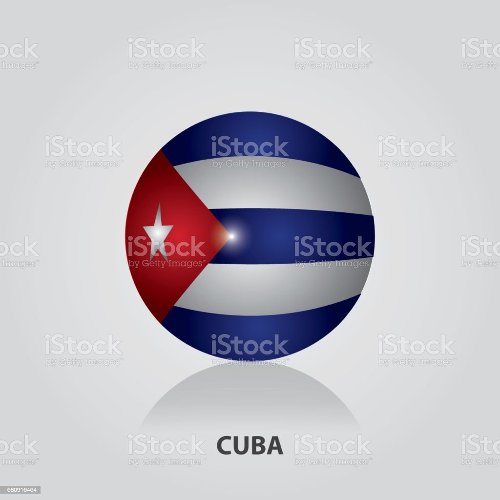 Cuba - Flags of Central America and the Caribbean Vector Illustration royalty-free cuba flags of central america and the caribbean vector illustration stock vector art & more images of 2017