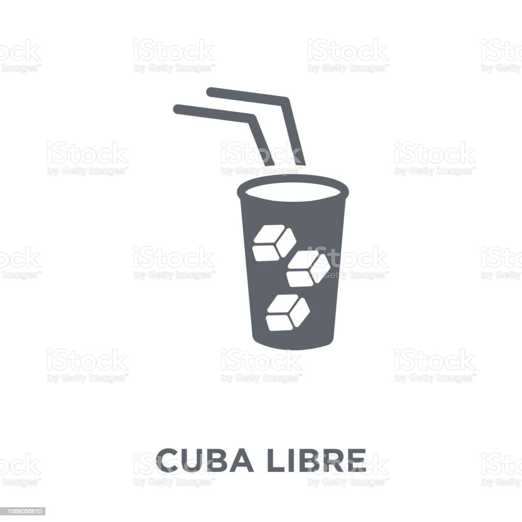 Cuba libre icon from Drinks collection. vector art illustration
