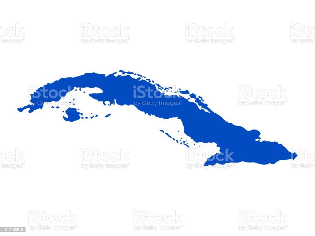 Havanna Kuba Karte.Kubakarte Stock Vektor Art Und Mehr Bilder Von Havanna Istock