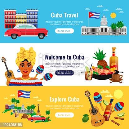 istock cuba travel banners 1201258158