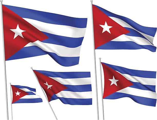 Cuba vector de Banderas - ilustración de arte vectorial