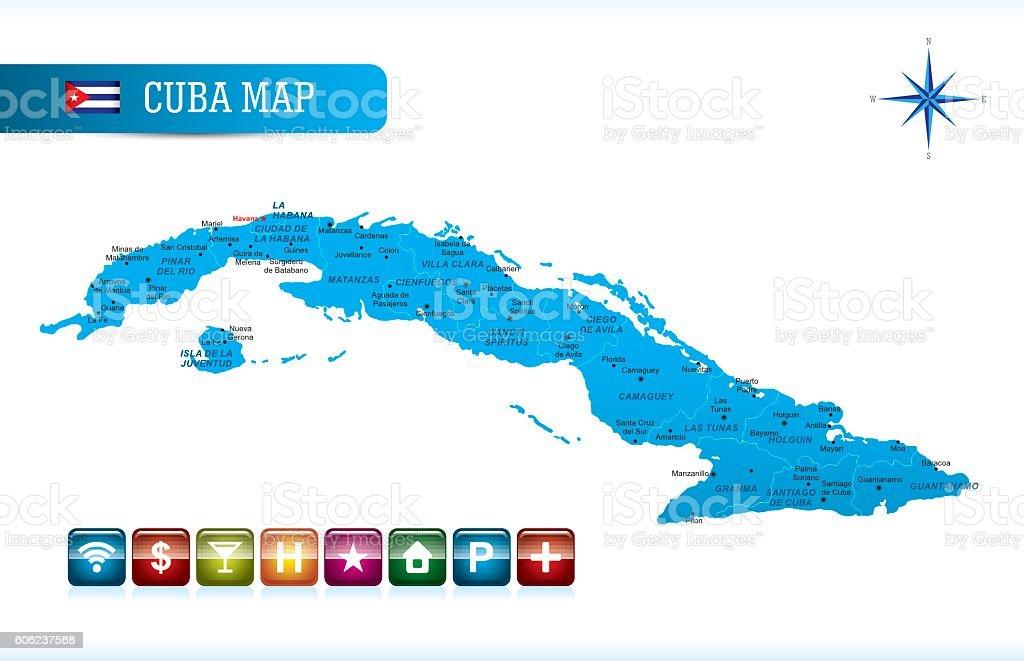 Carte Cuba Amerique.Cuba Vecteur Carte Vecteurs Libres De Droits Et Plus D Images De
