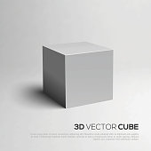 3D Cube. Vector illustration for your design for your design
