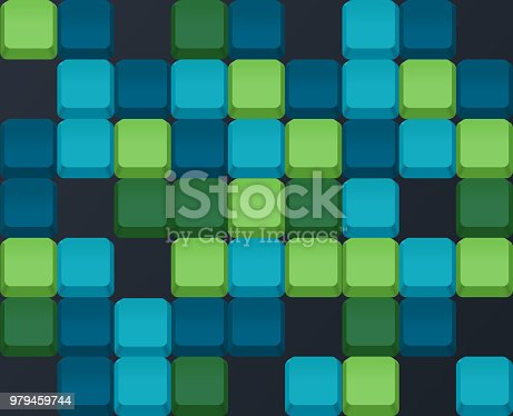 Cube abstract background concept.