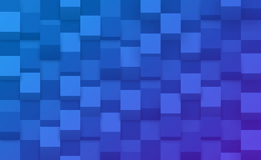 Cube Checkered Abstract Background