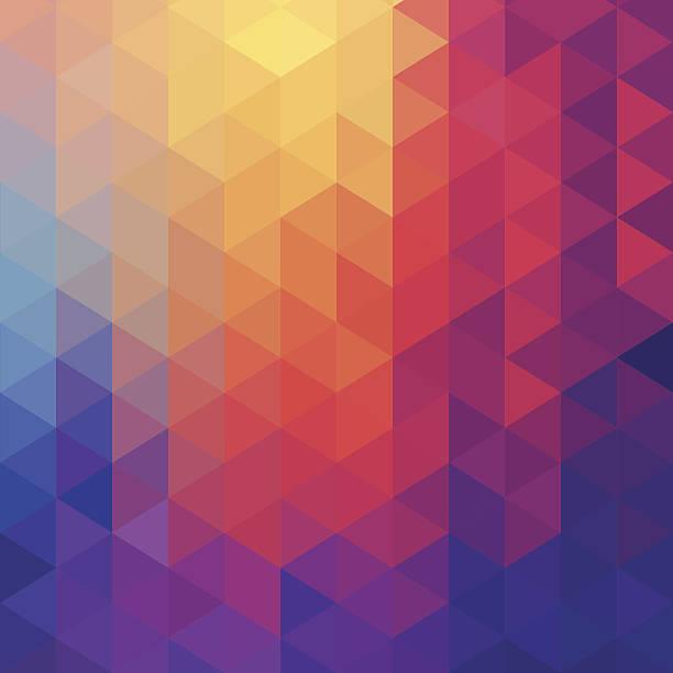 ilustraciones, imágenes clip art, dibujos animados e iconos de stock de cubo fondo abstracto con el premio four diamond - fondos mosaicos