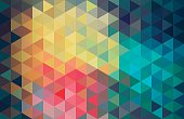 Abstract diamond-pattern background. Global colors used. EPS 10.