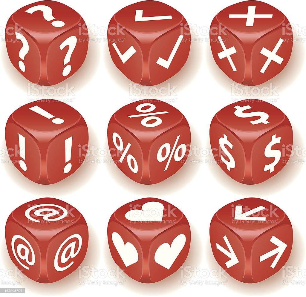 Cube icon!! royalty-free stock vector art