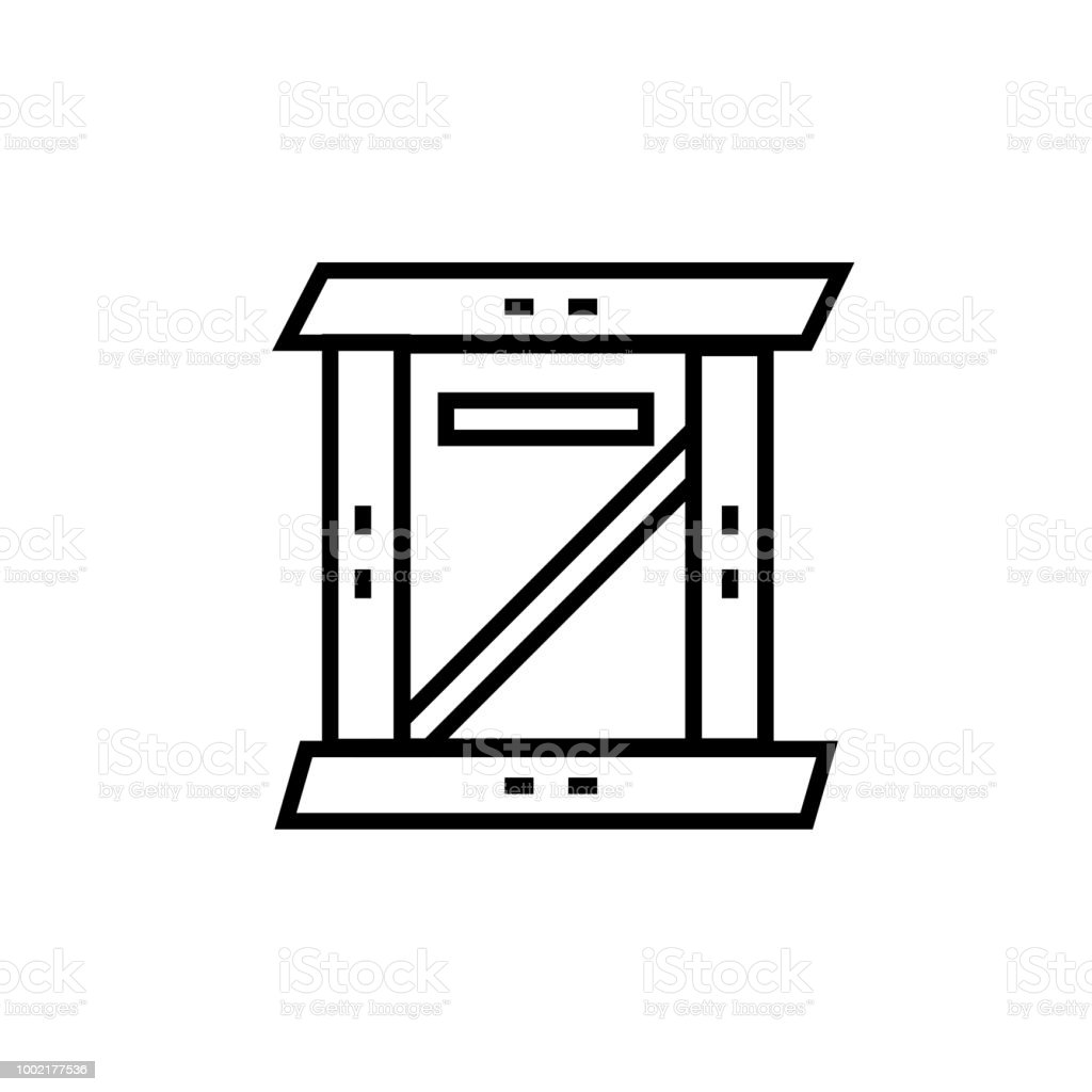 Cube Icon Vector Sign And Symbol Isolated On White