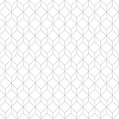 Vector of Cube Seamless Pattern Background