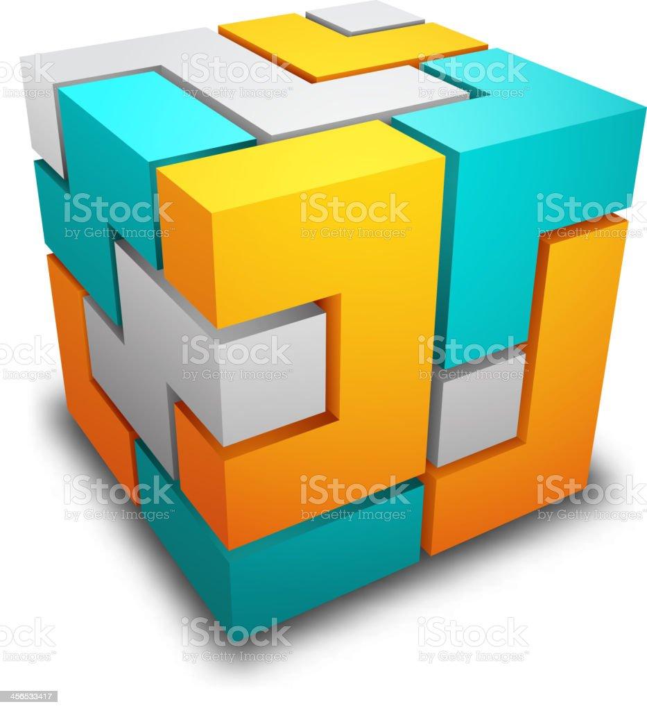 Cube – Vektorgrafik