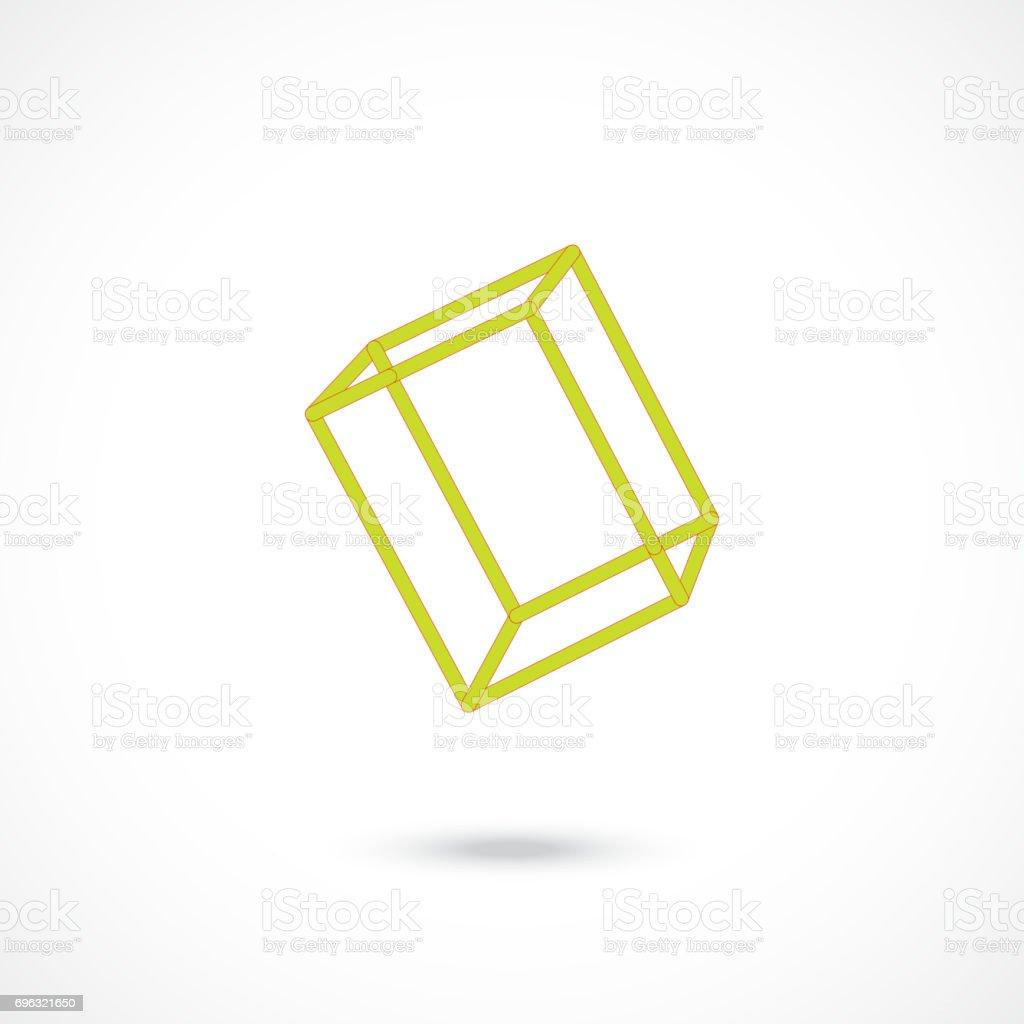 Cube - Illustration vectorielle