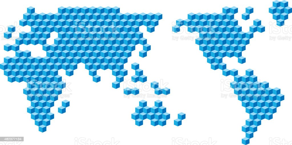 Cubes world map stock vector art more images of 2015 482377134 cubes world map royalty free cubes world map stock vector art amp more images sciox Gallery