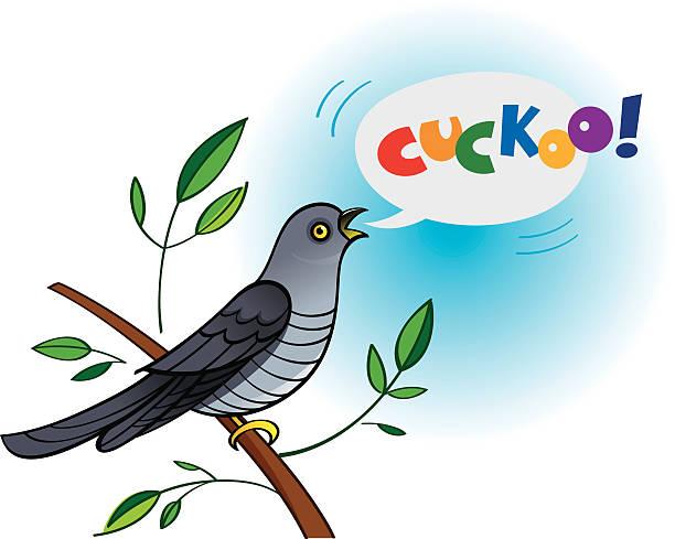 Royalty Free Cuckoo Bird Clip Art, Vector Images ...