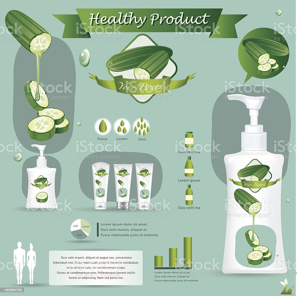 Cucumber infographics. vector illustration royalty-free cucumber infographics vector illustration stock vector art & more images of adult
