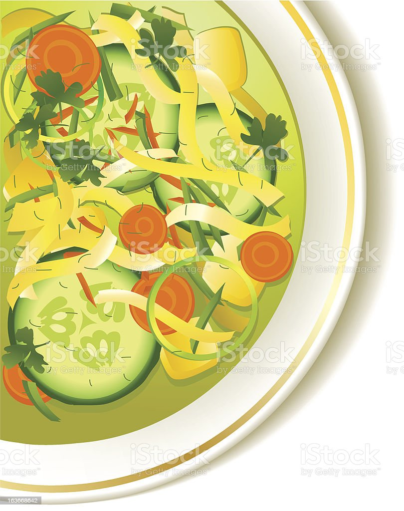Cucumber soup royalty-free cucumber soup stock vector art & more images of appetizer