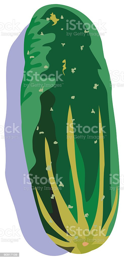Cucumber royalty-free cucumber stock vector art & more images of color image