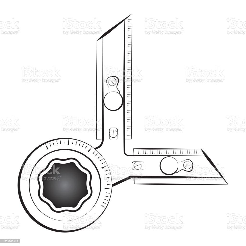 Cullman Or Panel Board Vector Icon Perfect For Architecture Design Company Symbol Royalty