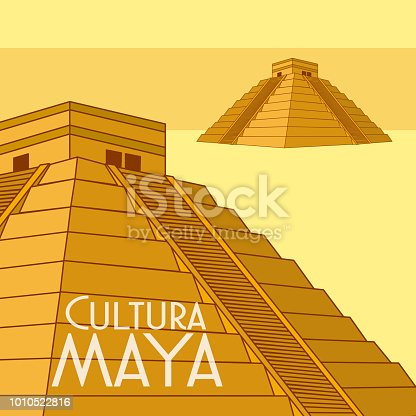 istock Cultura Maya postcard 1010522816