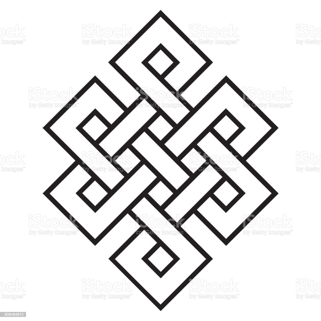 Cultural symbol of buddhism endless knot stock vector art more cultural symbol of buddhism endless knot royalty free cultural symbol of buddhism endless knot stock biocorpaavc