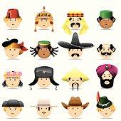 Cultures faces