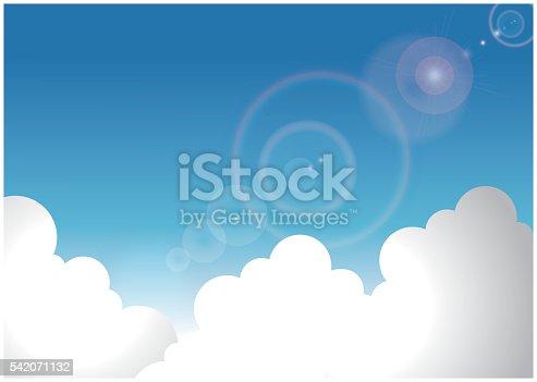 626588878 istock photo Cumulonimbus and Summer sky 542071132