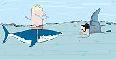 Cunning Shark Attack