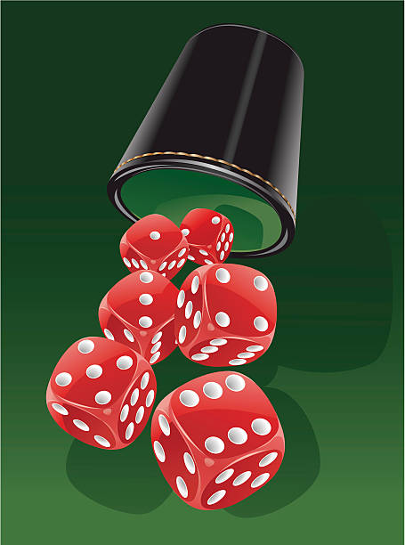 Dice Cup Illustrations, Royalty-Free Vector Graphics & Clip
