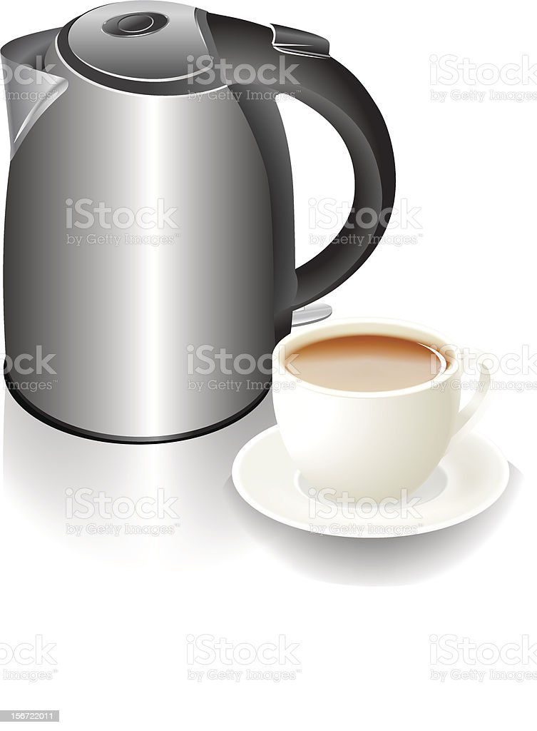 cup and teapot royalty-free cup and teapot stock vector art & more images of appliance