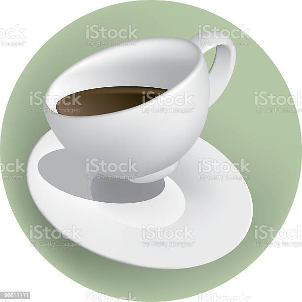 Cup O Joe White-vektorgrafik och fler bilder på Datorgrafik