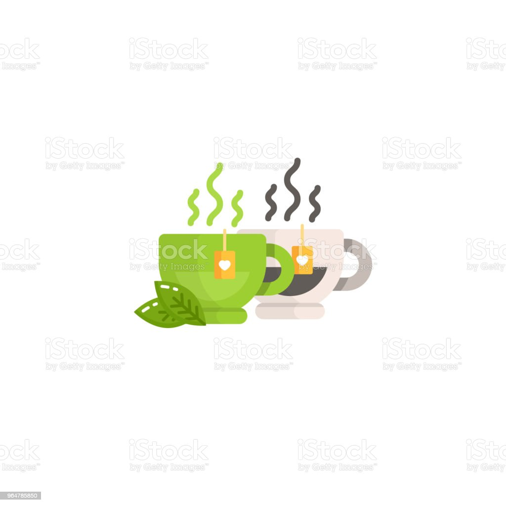 Cup of black and green tea royalty-free cup of black and green tea stock vector art & more images of antioxidant