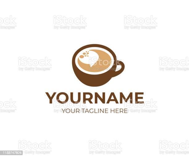 Cup of coffee and speech bubble design coffee break vector design vector id1133747826?b=1&k=6&m=1133747826&s=612x612&h=b8mjmn71ec v cinjaejo21i8y9zvqv9ljt wejhhua=