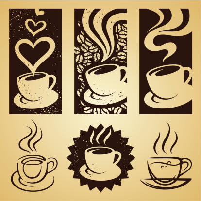 cup of coffee set