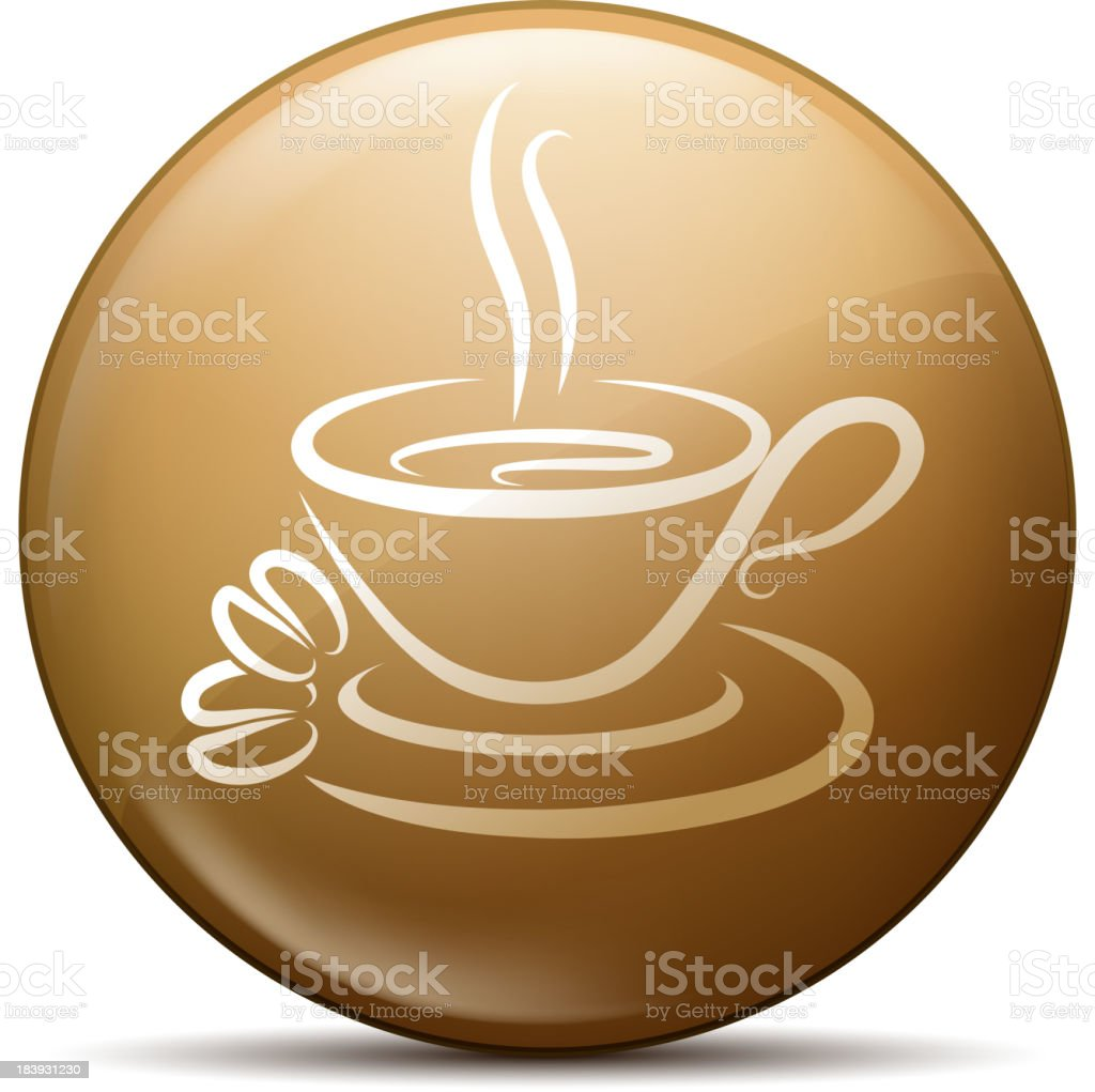 cup of coffee symbol royalty-free stock vector art