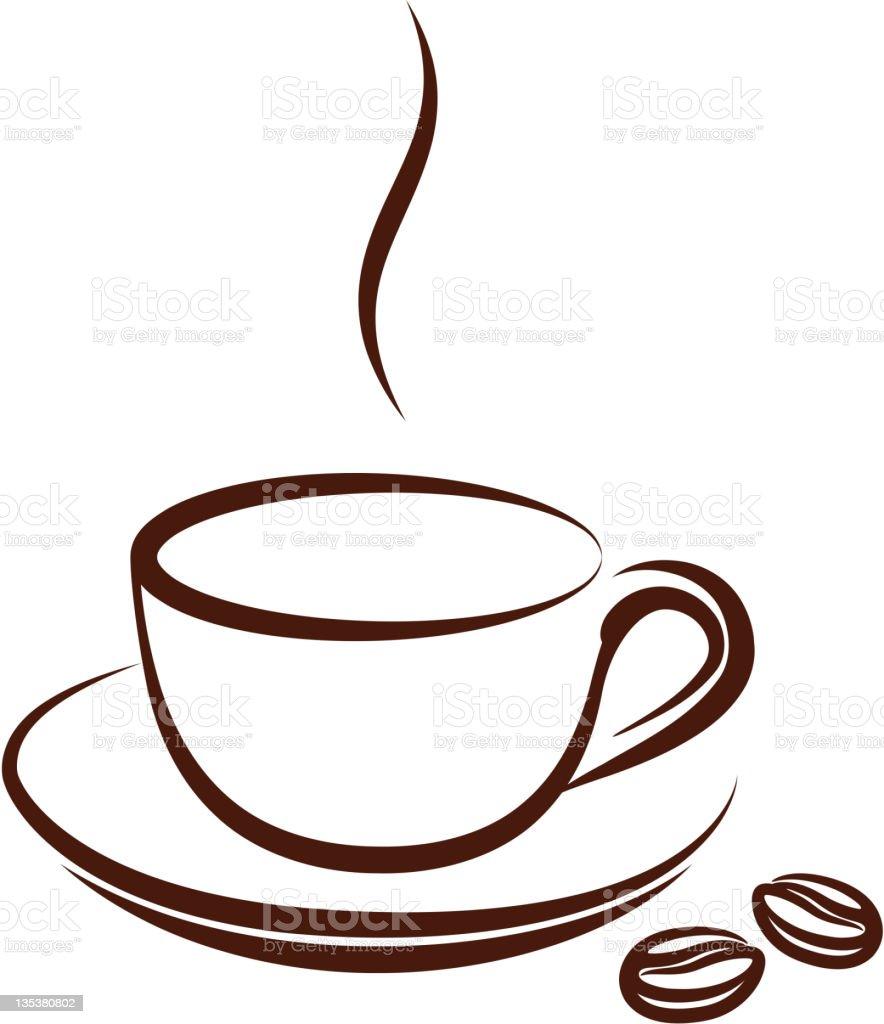 Tasse Kaffee Stock Vektor Art und mehr Bilder von Alkoholfreies ...