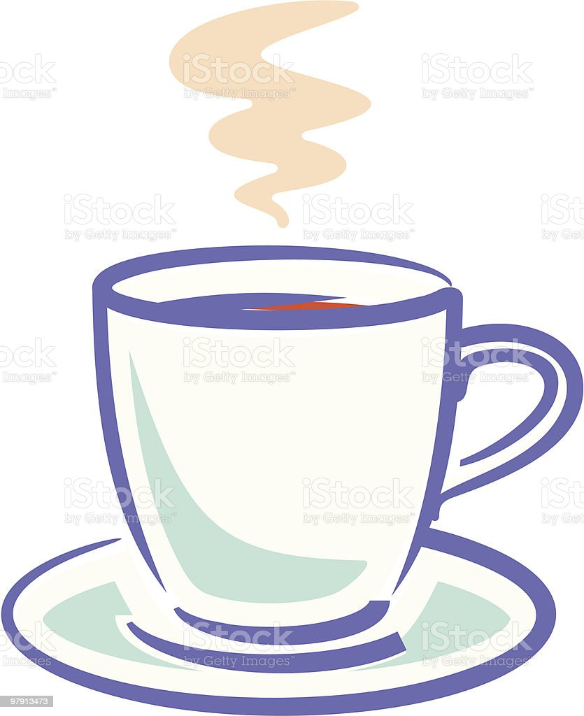 Cup of Coffee royalty-free cup of coffee stock vector art & more images of breakfast