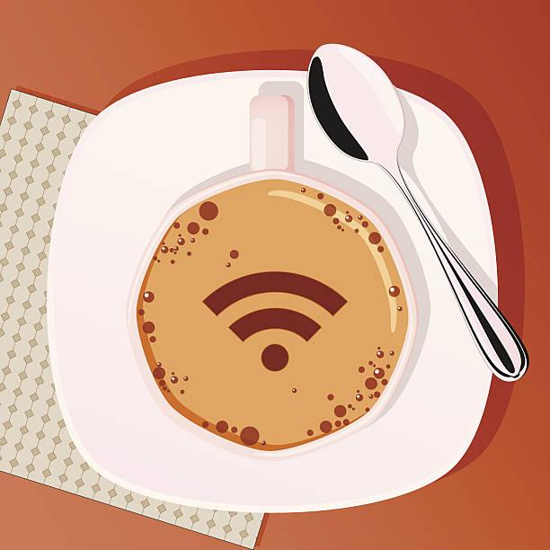ilustrações de stock, clip art, desenhos animados e ícones de xícara de café com colher - café solúvel