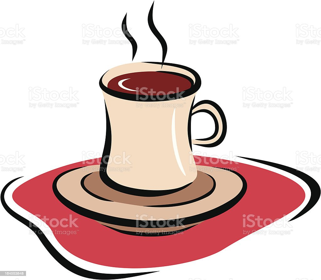 Cup of Hot Cacao (Vector) royalty-free stock vector art