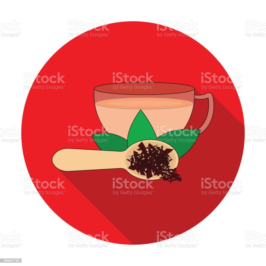 Cup of tea icon in flat style isolated on white background. India symbol stock vector illustration. cup of tea icon in flat style isolated on white background india symbol stock vector illustration - arte vetorial de stock e mais imagens de aromaterapia royalty-free