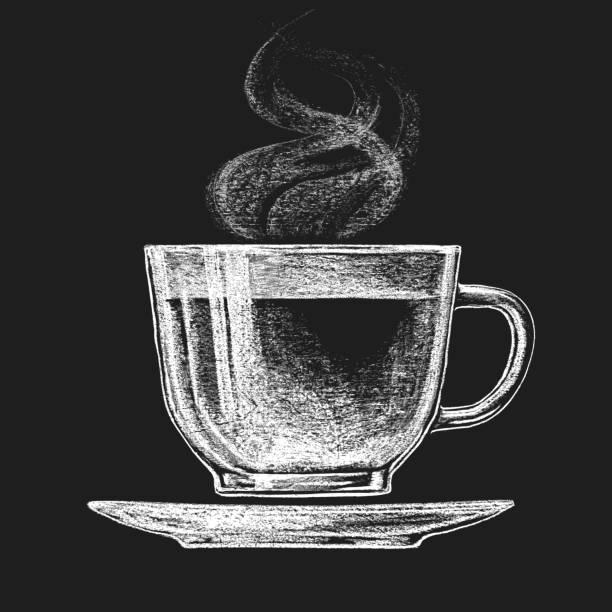 ilustrações de stock, clip art, desenhos animados e ícones de chávena de chá - chá bebida quente