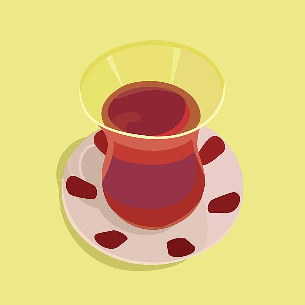 ilustrações de stock, clip art, desenhos animados e ícones de xícara de chá de turco - lapa