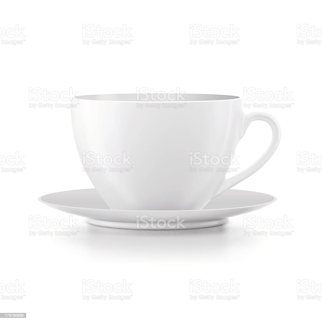 Cup vector art illustration