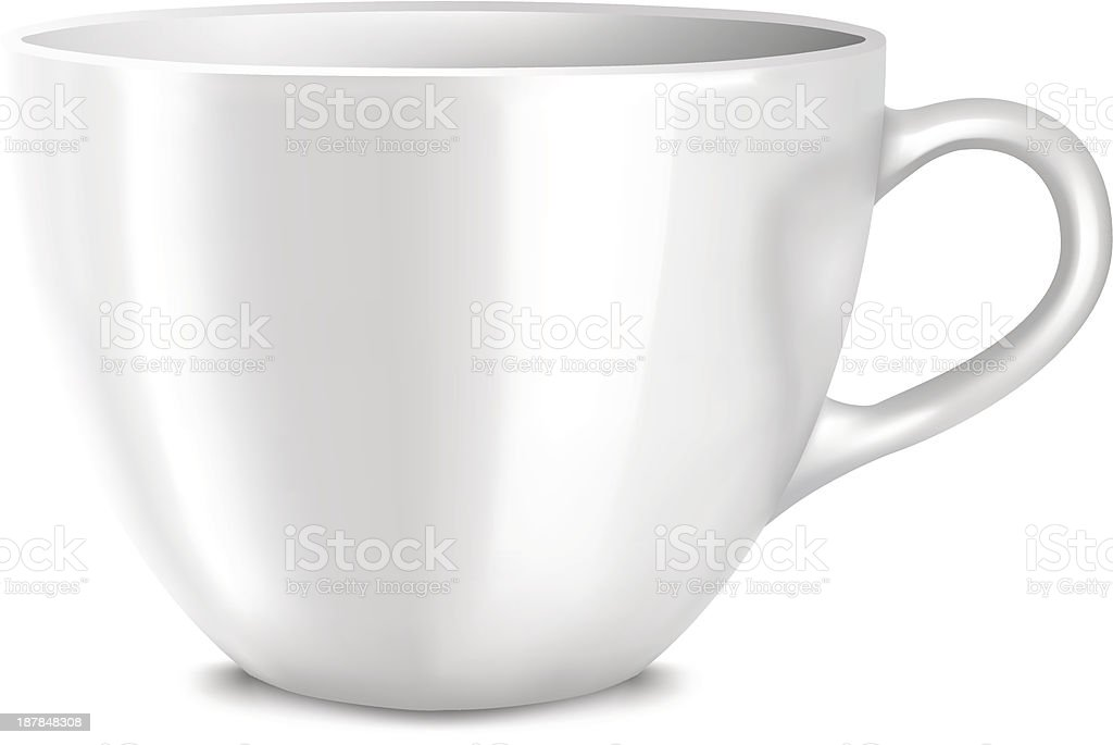 Cup royalty-free cup stock vector art & more images of bowl