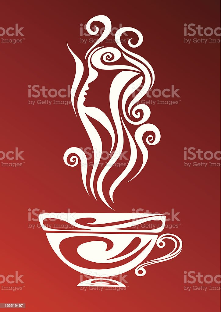 Cup with a drink royalty-free cup with a drink stock vector art & more images of breakfast