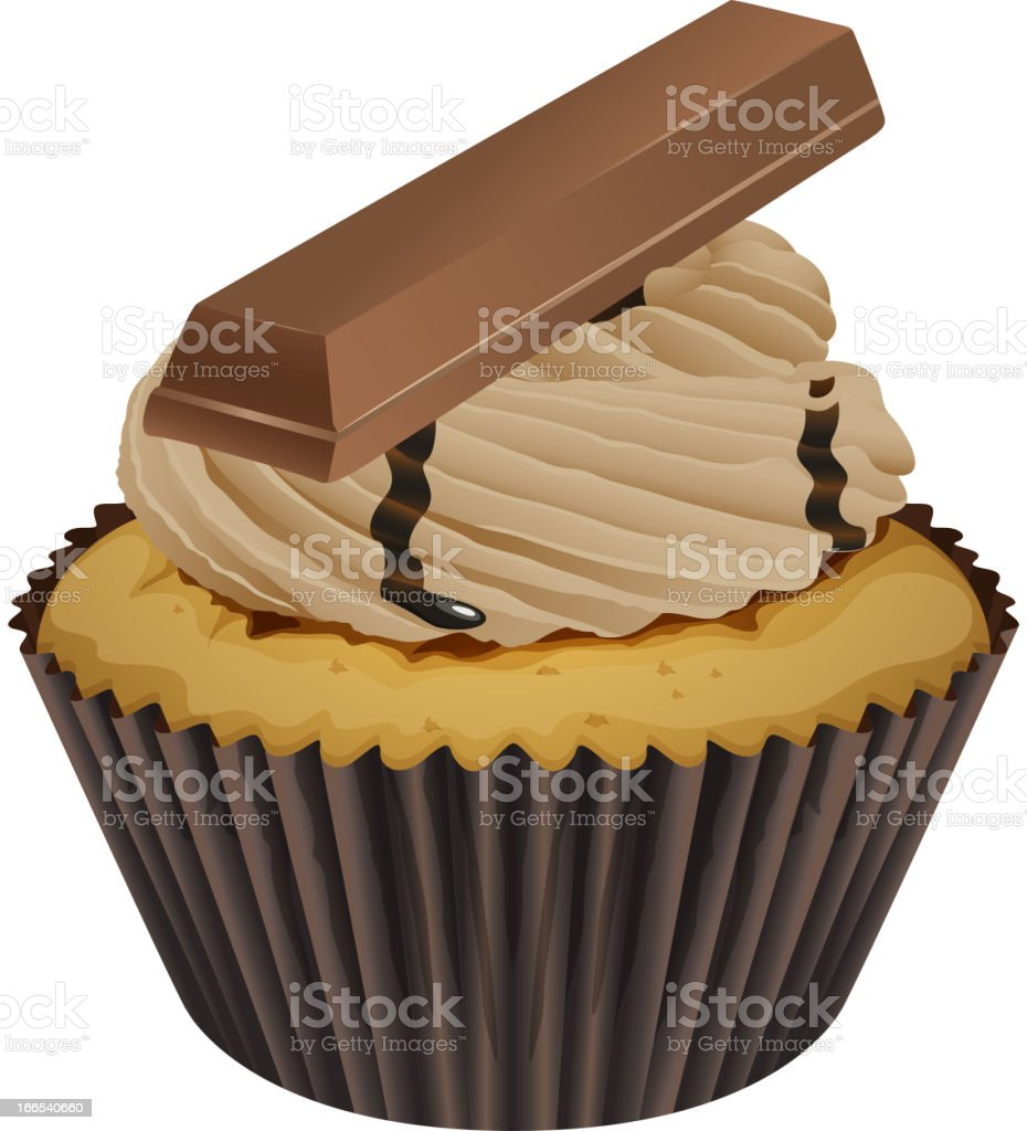 Cupcake royalty-free stock vector art