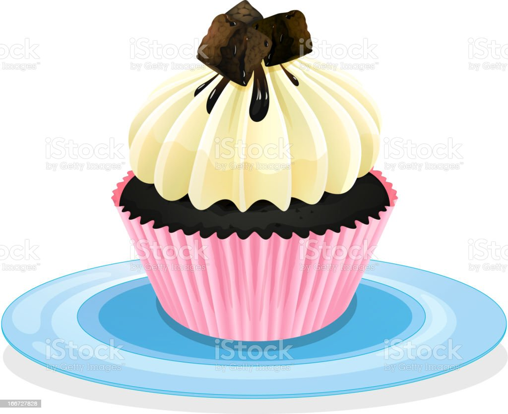 Cupcake royalty-free cupcake stock vector art & more images of baked